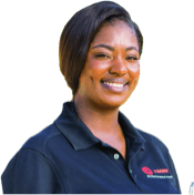 Woman in Trane Uniform